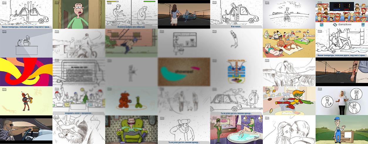 Примеры разработки и создания рисованных рекламных мультиков
